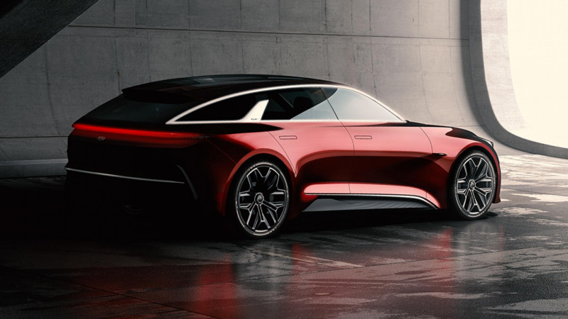 Kia teases shooting brake concept ahead of Frankfurt