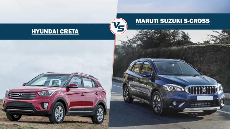 Spec comparo: New Maruti S-Cross Vs Hyundai Creta