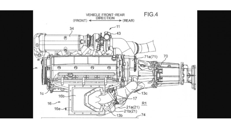 Mazda patents triple-charged engine