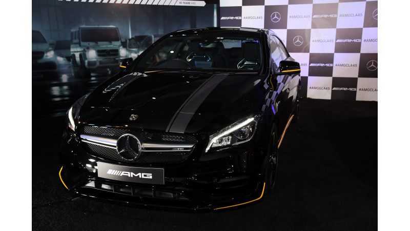 A rundown on the Mercedes-Benz CLA 45 AMG