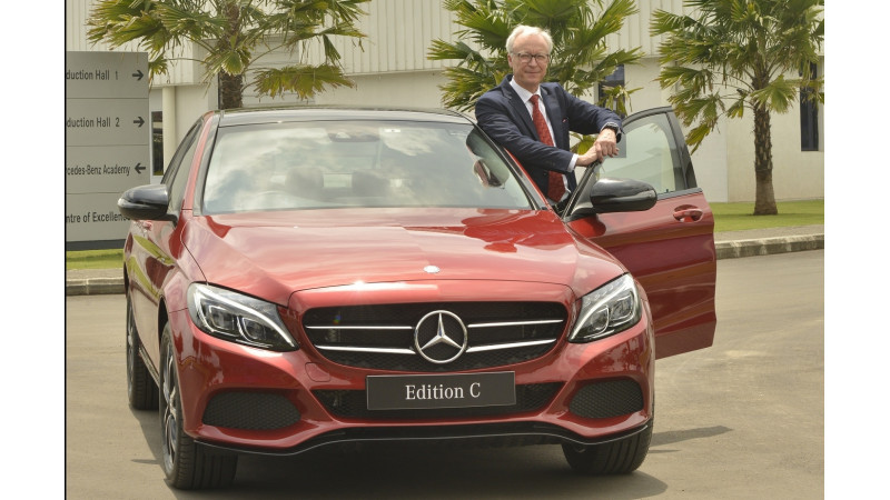 Mercedes-Benz launches C-Class Edition C for Rs 42.54 lakhs