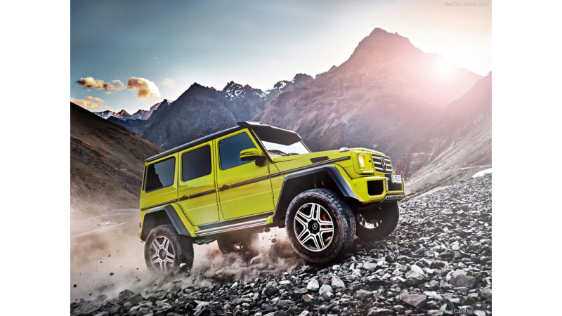 Mercedes-Benz G500 4x4-2 production to end in October