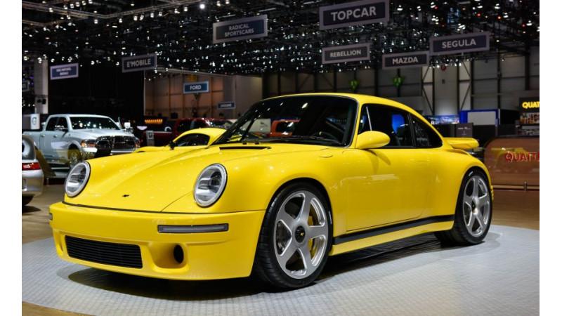 Geneva 2017: Ruf Yellowbird reborn as the 911 CTR