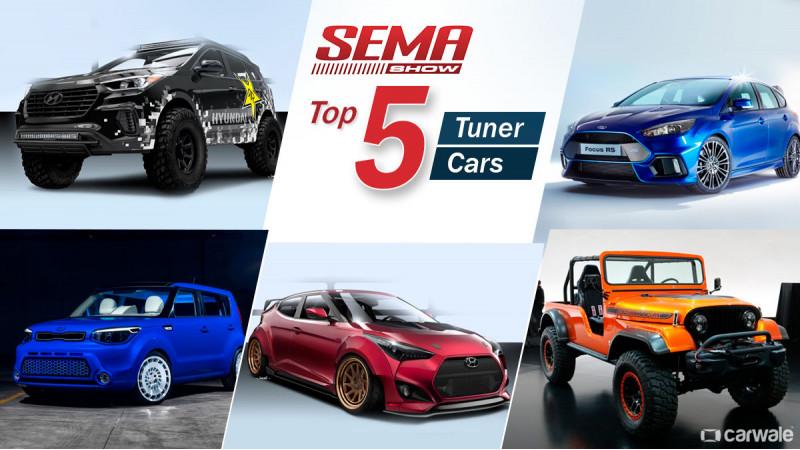 Top 5 Tuner cars at SEMA 2016