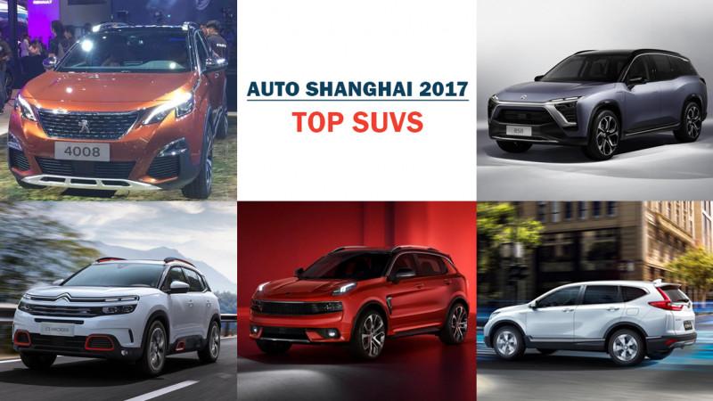 Auto Shanghai 2017: Top 5 SUVs under the spotlight