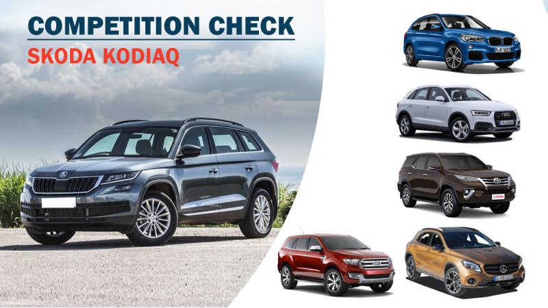 Skoda Kodiaq Competition Check