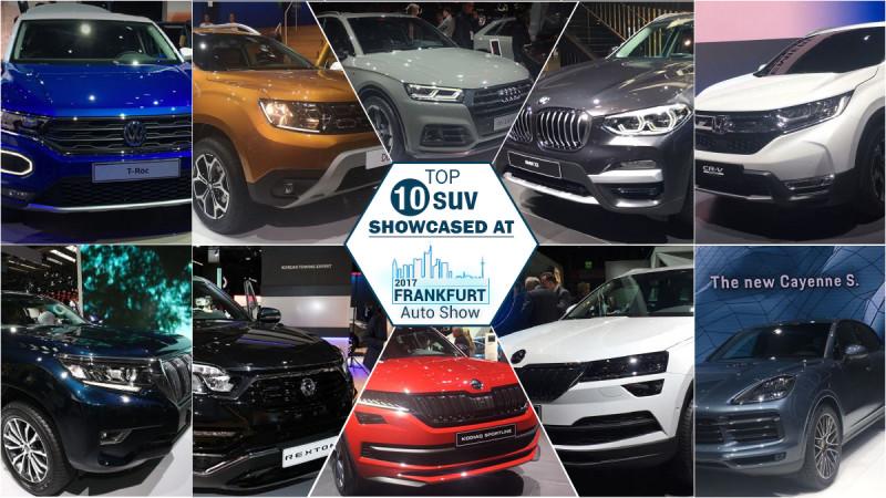 Top 10 SUVs at Frankfurt Auto Show 2017