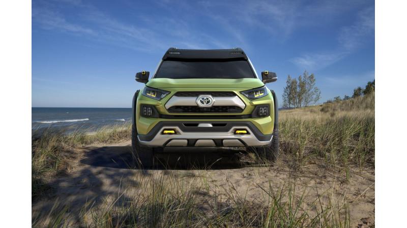 LA Auto Show 2017 Toyota FT AC unveiled