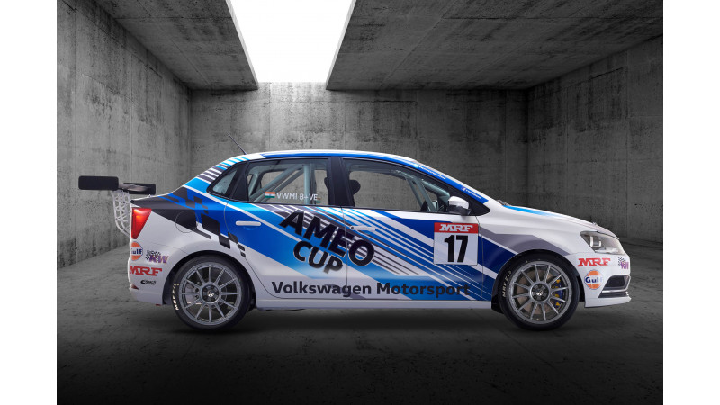 2017 Ameo Cup car revealed