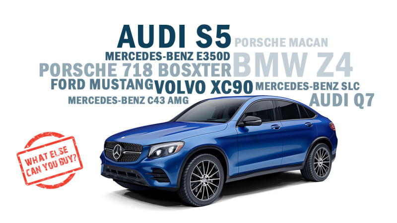 Mercedes-Benz GLC 43 AMG Coupe What else can you buy