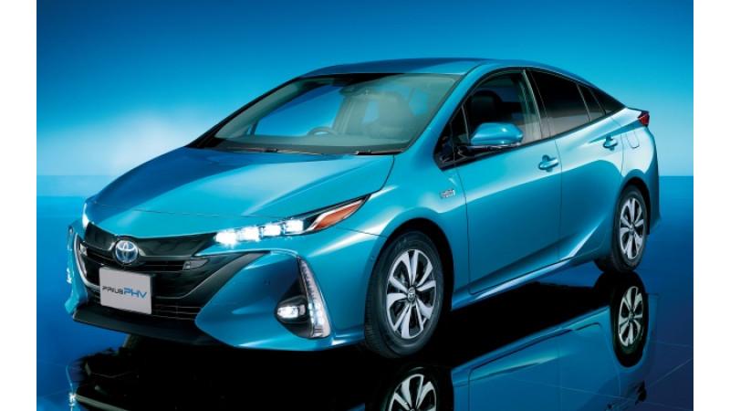 Toyota unveils next generation Prius PHV for Japan