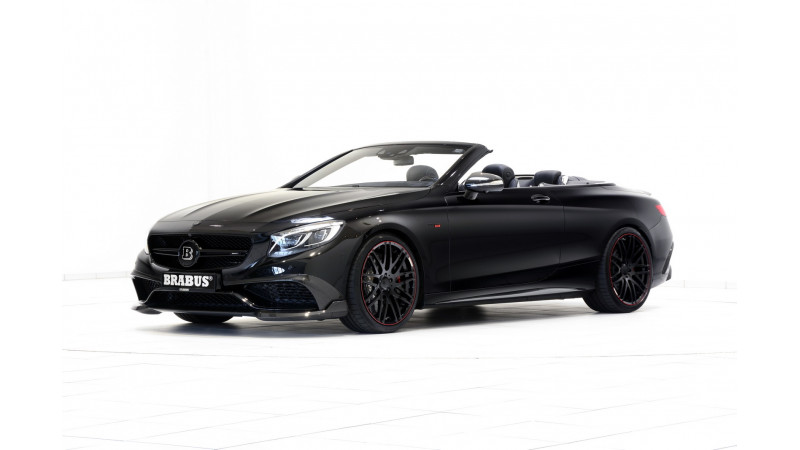 Brabus launches world's fastest convertible