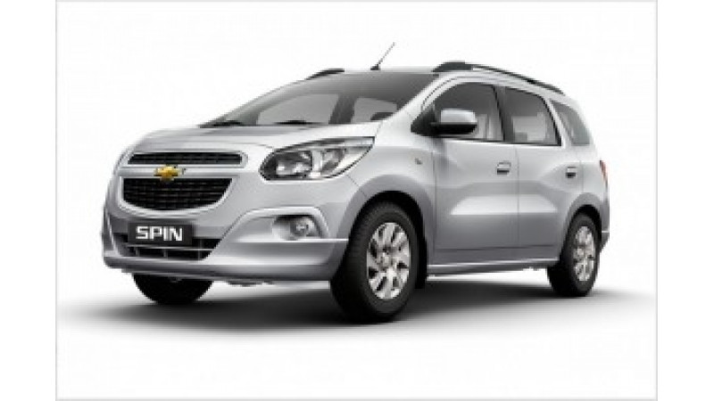 2016 Auto Expo: Chevrolet Spin to be officially launched in 2017