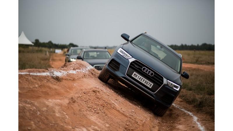 2016 Audi Mobile tour starts from Siliguri