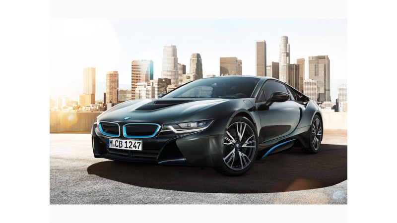 BMW i8 marks attendance at Fame India Eco Drive 2015, celebrates World Environment Day