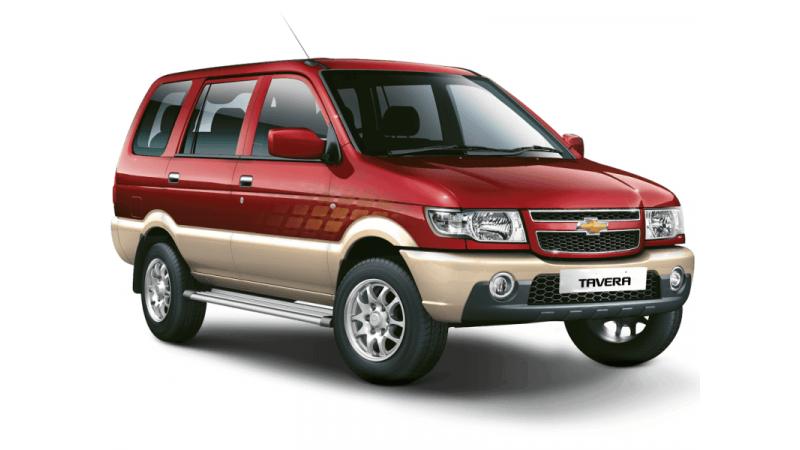 Chevrolet Tavera to get BSIV engine soon