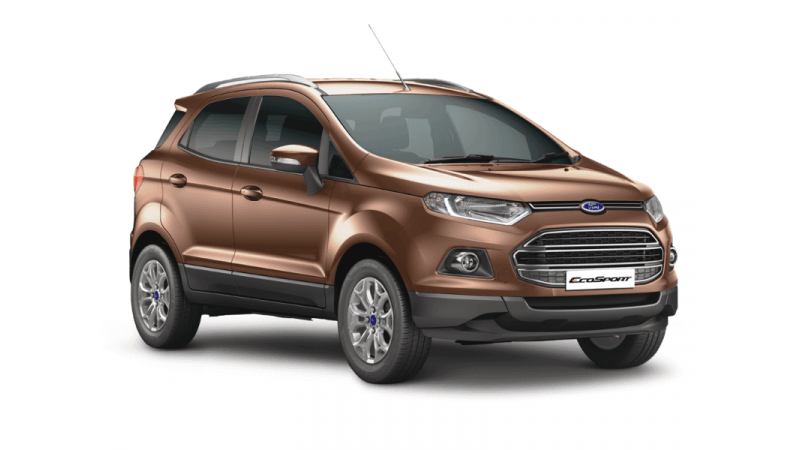 Ford EcoSport Titanium variant gets touchscreen infotainment system