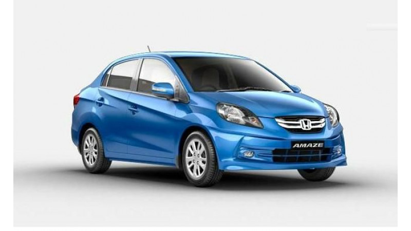 Honda Amaze tops company   s sales for February 2015
