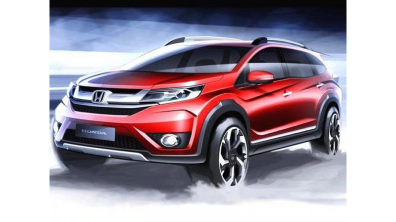 Honda BR-V technical specifications revealed