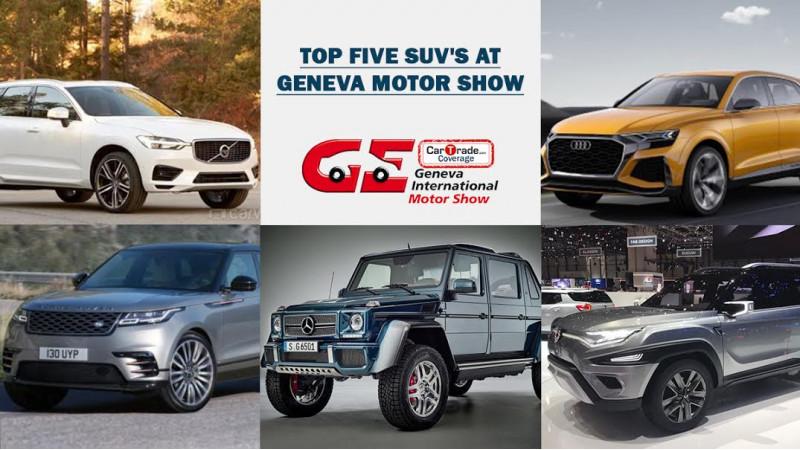 Geneva 2017: Top 5 SUVs that caught attention