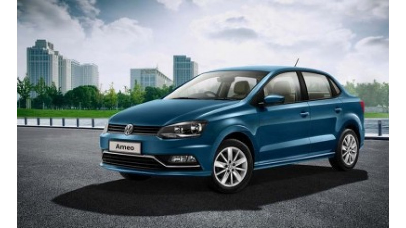 Volkswagen Ameo variants revealed