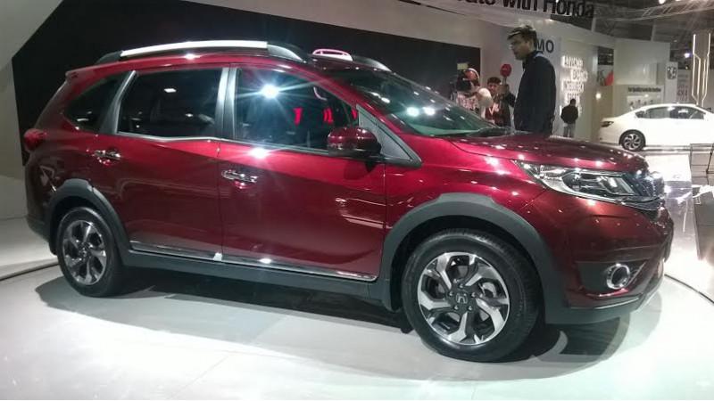 2016 Auto Expo: Honda BR-V unveiled