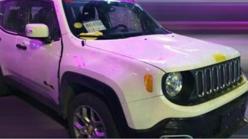 Jeep Renegade spotted on Chinese roads again