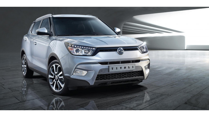 Ssangyong could launch 1.5-litre diesel Tivoli in India
