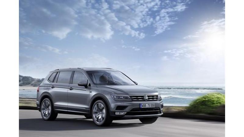 Geneva 2017: Volkswagen Tiguan  Allspace revealed