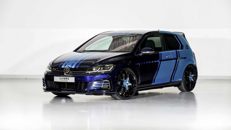 Volkswagen Golf GTI First Decade and GTE Estate revealed at Worthsee 2017