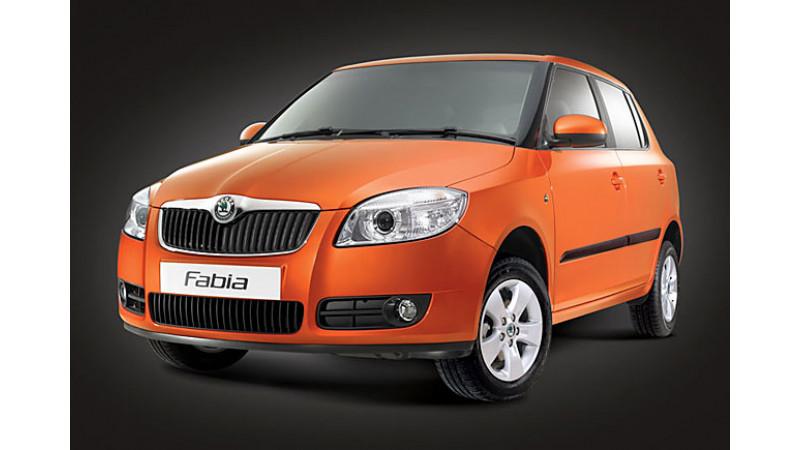 A look at Skoda Fabia in India