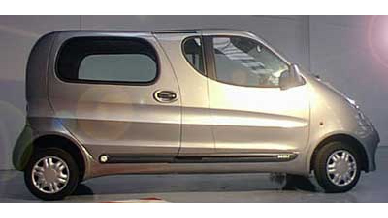 Compressed Air Car from Tata