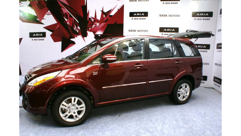 Tata Aria Launched in India with Actual Images