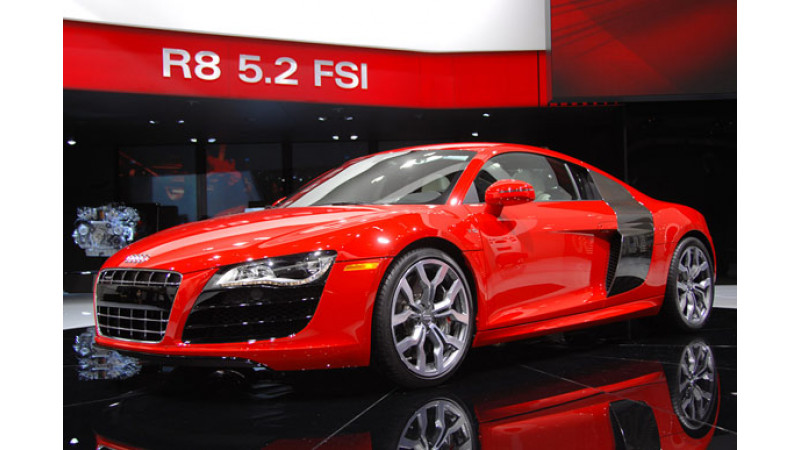 Audi Launches New R8 52 Fsi Coupe In India At Rs 135 Crore
