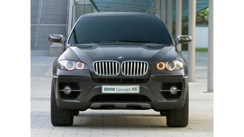BMW X6 Unveiled