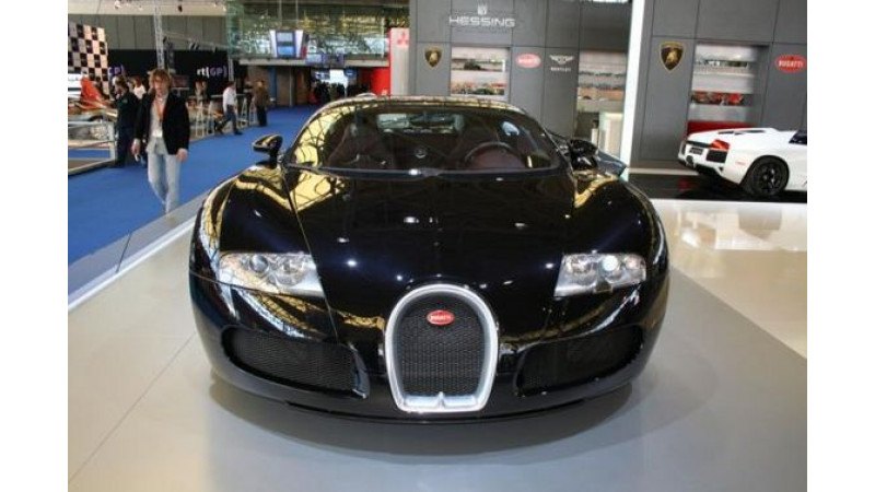 Bugatti Veyron  Rs. 7.5 crore Car Now Showing at AutoRAI, Amsterdams