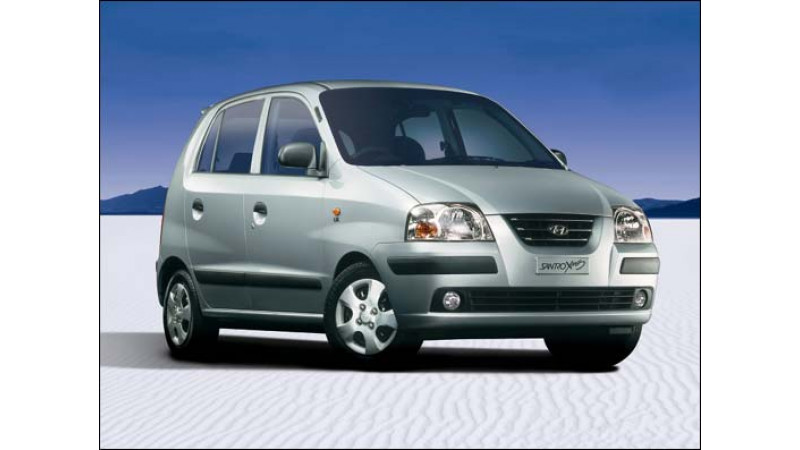 New Hyundai Santro on September 01
