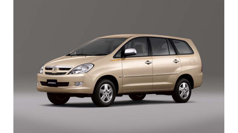 Toyota Innova and Toyota Corolla Get Expensive