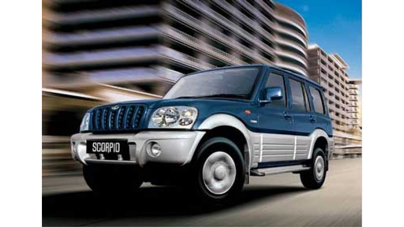 New Mahindra Scorpio for the Indian Customers