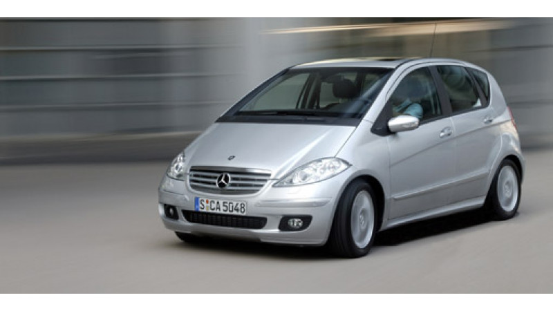 Mercedes to Launch Small Car Model A Class in India | CarTrade