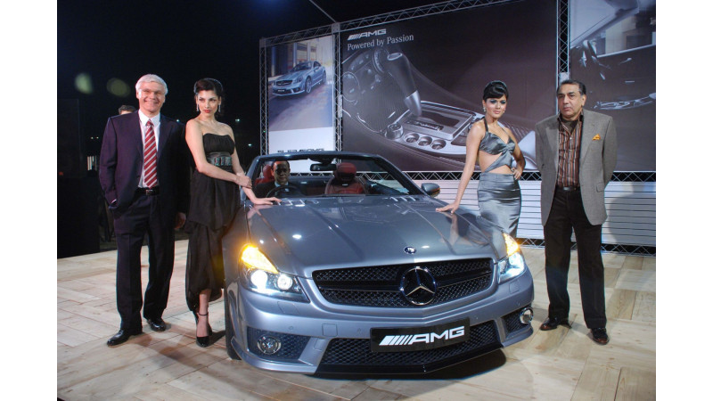 Mercedes-Benz presents its AMG range in India
