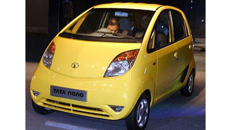 Nano Unveiled at Vibrant Gujarat Summit in India