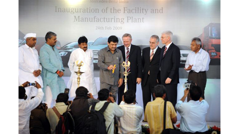 Mercedes-Benz Inaugurates New Manufacturing Plant in Pune