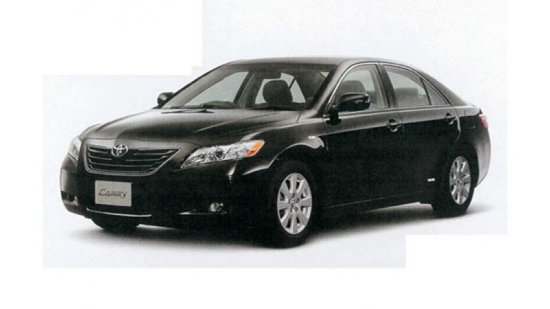 Toyota Camry to Roll Out from India