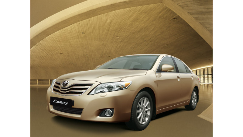 Toyota Camry with New Features Launched
