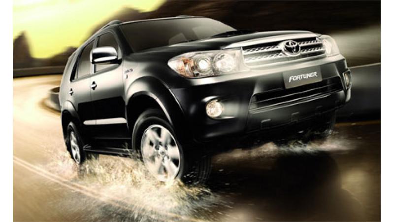 Toyota Fortuner in India