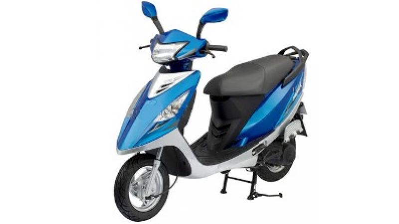 New Scooty Streak in India from TVS