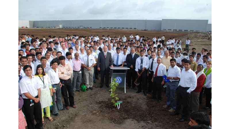 Production of Skoda Fabia starts from Chakan plant.