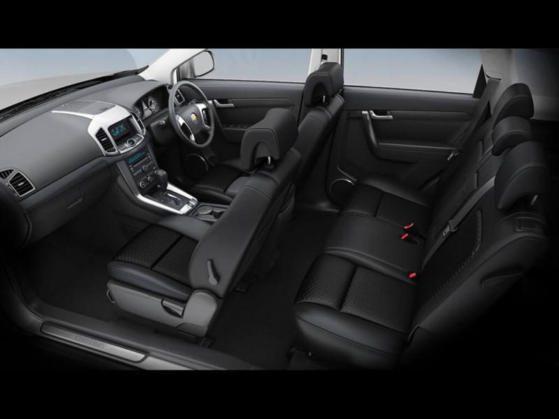 Chevrolet Captiva Photos, Interior, Exterior Car Images - 10719 ...