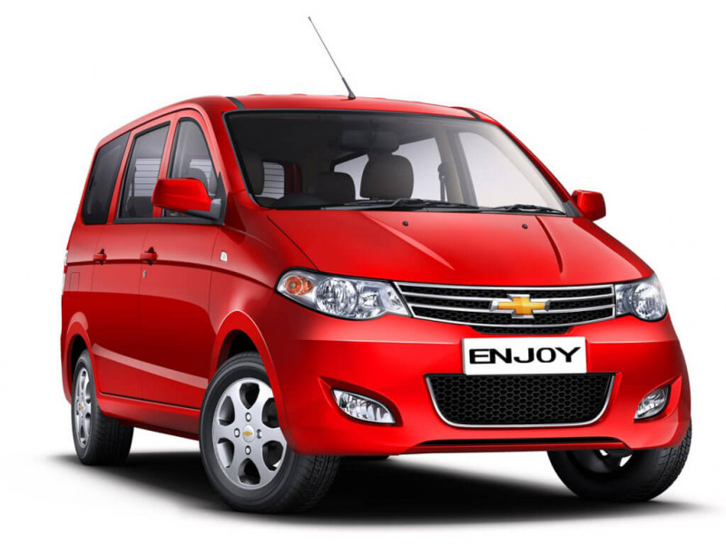 Chevrolet Enjoy Photos, Interior, Exterior Car Images ...
